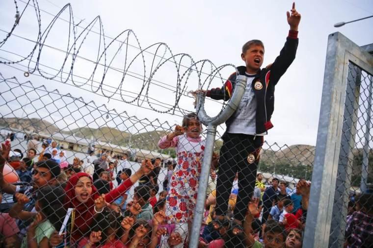 Refugee children in Germany