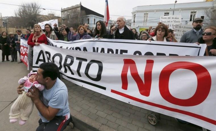 Chile pro-life rally
