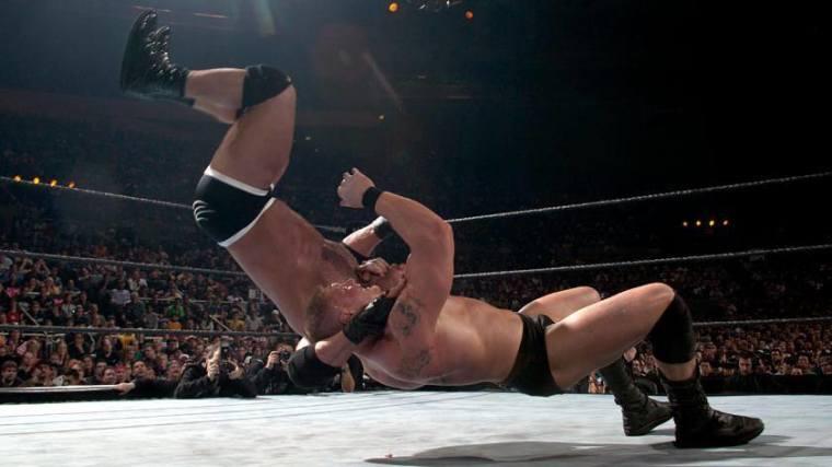 Goldberg vs Lesnar