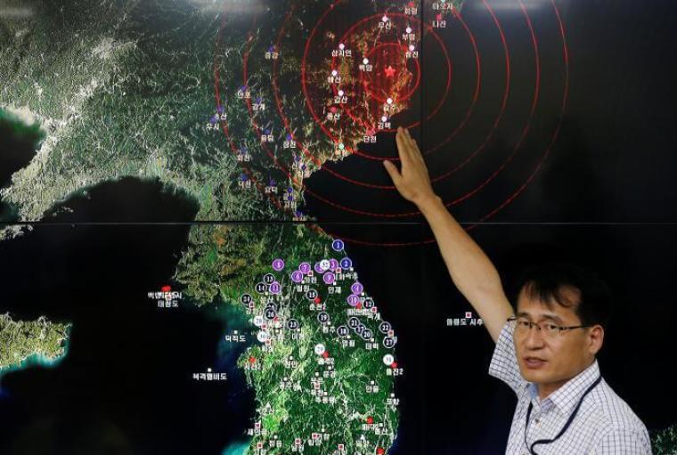 North Korea test
