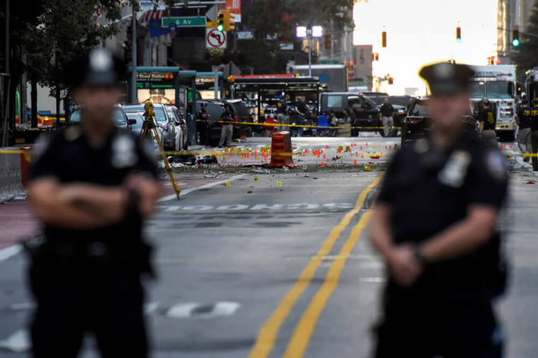 new york city manhattan explosion