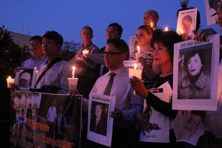 North Korea Freedom Candlelight Vigil
