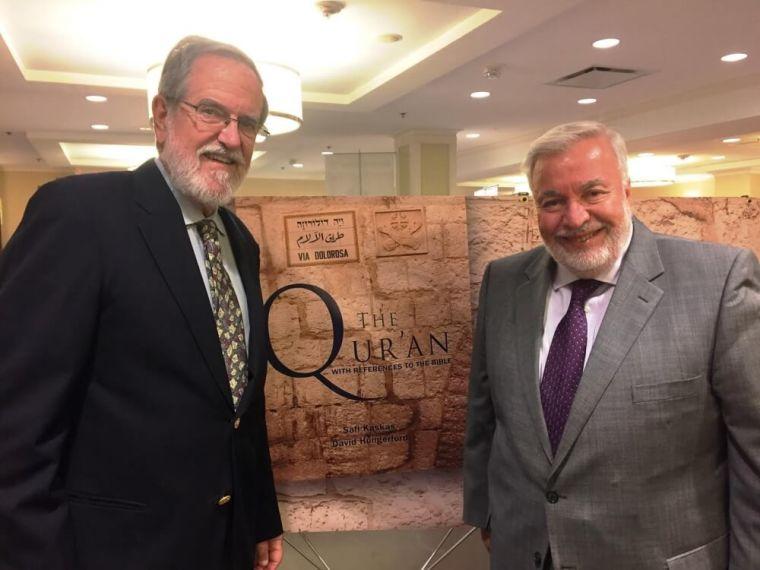 Safi Kaskas and Dr. David Hungerford