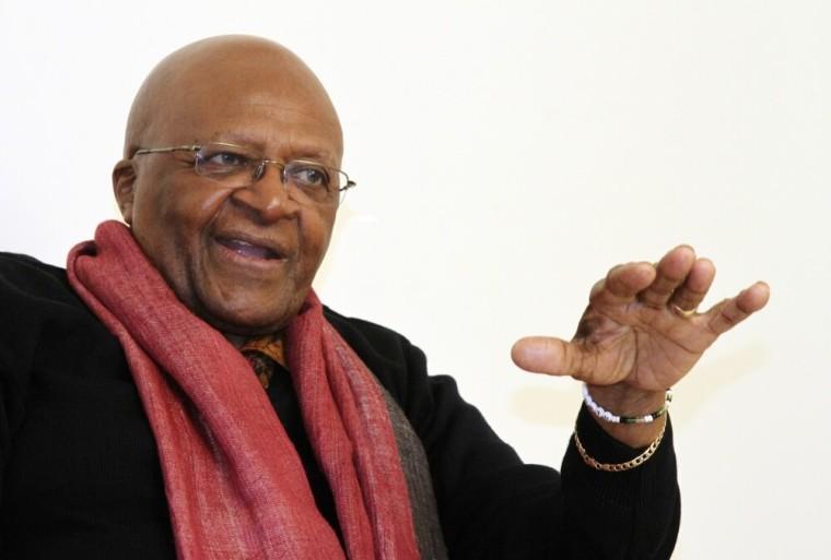 South African Archbishop and Nobel Laureate Desmond Tutu