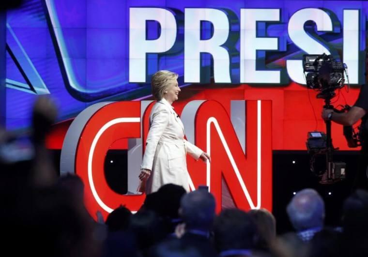 Hillary Clinton, CNN, Debate