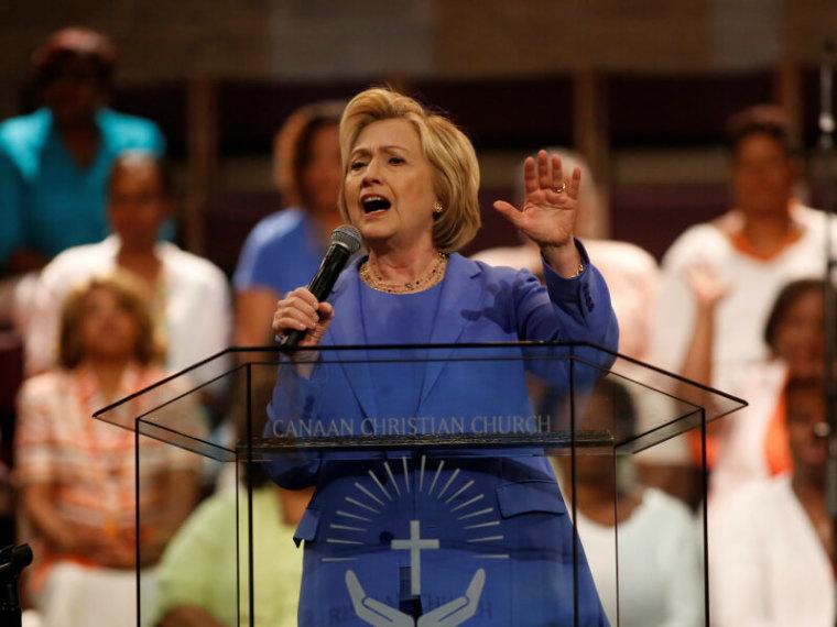 Hillary Clinton, Church