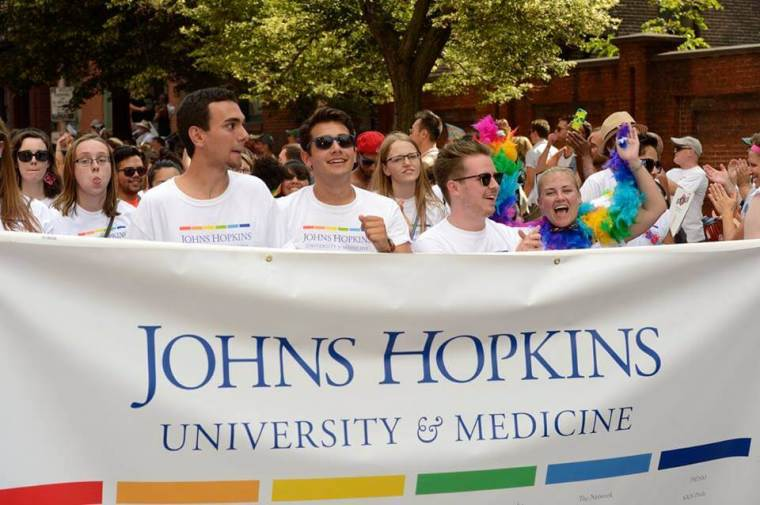 Johns Hopkins, Gay Pride