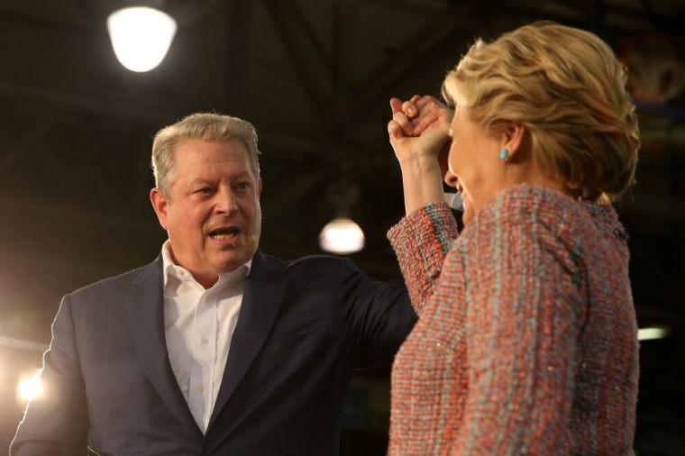 Hillary Clinton, Al Gore