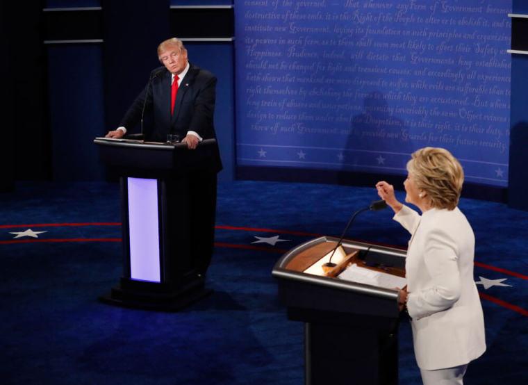 trump clinton presidential debate
