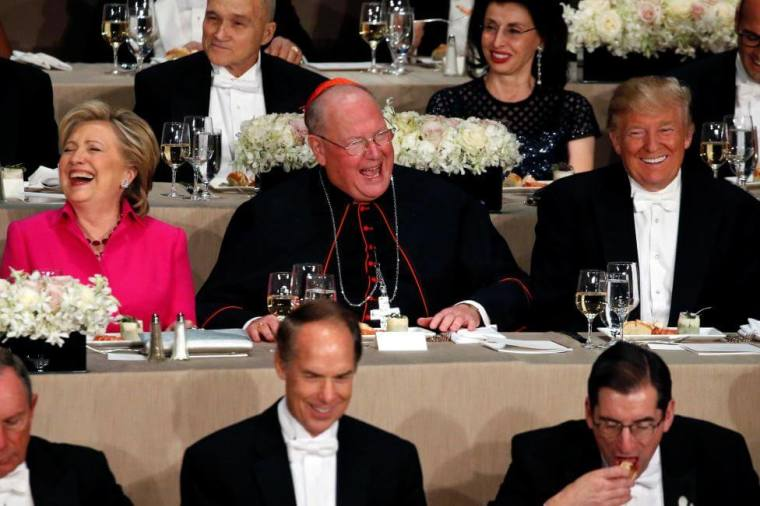 National Catholic Reporter Criticizes New York Archbishop Timothy Dolan for 'Inextricably Linking the U.S. Catholic Church to the Republican Party' After He Tells 'Great Friend' Trump That 'We Need You More Than Ever'