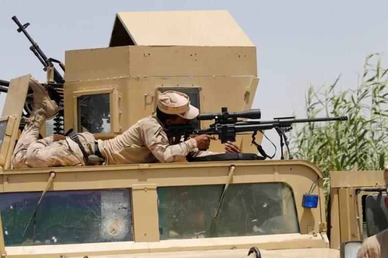 Iraqi military sniper