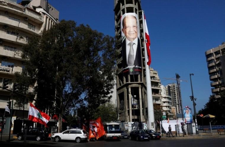 Christian politician and FPM founder Michel Aoun