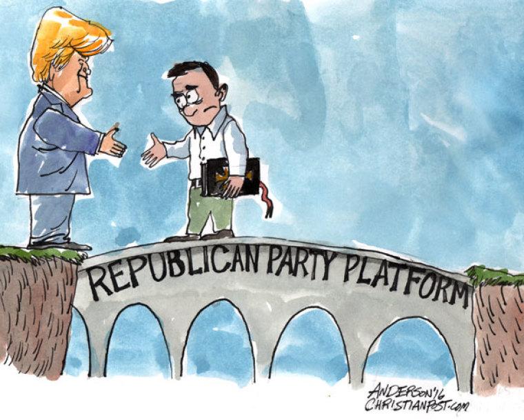 The GOP Bridge That Brought Evangelicals to Trump