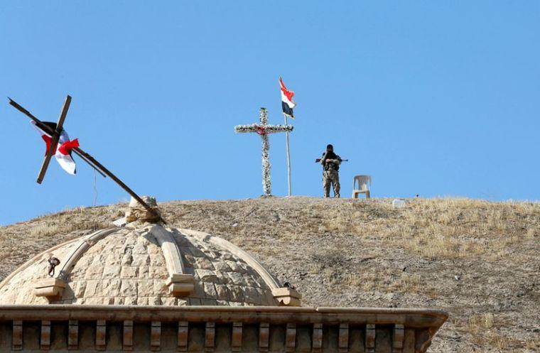 Iraqi Christian soldier