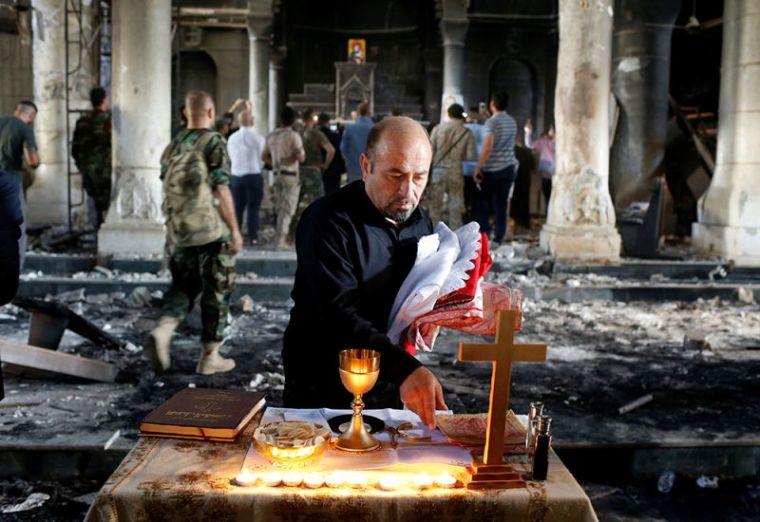 Iraqi Christian soldiers