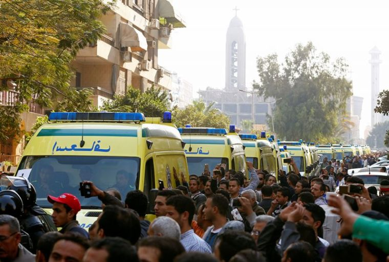 Egypt Coptic church bombing