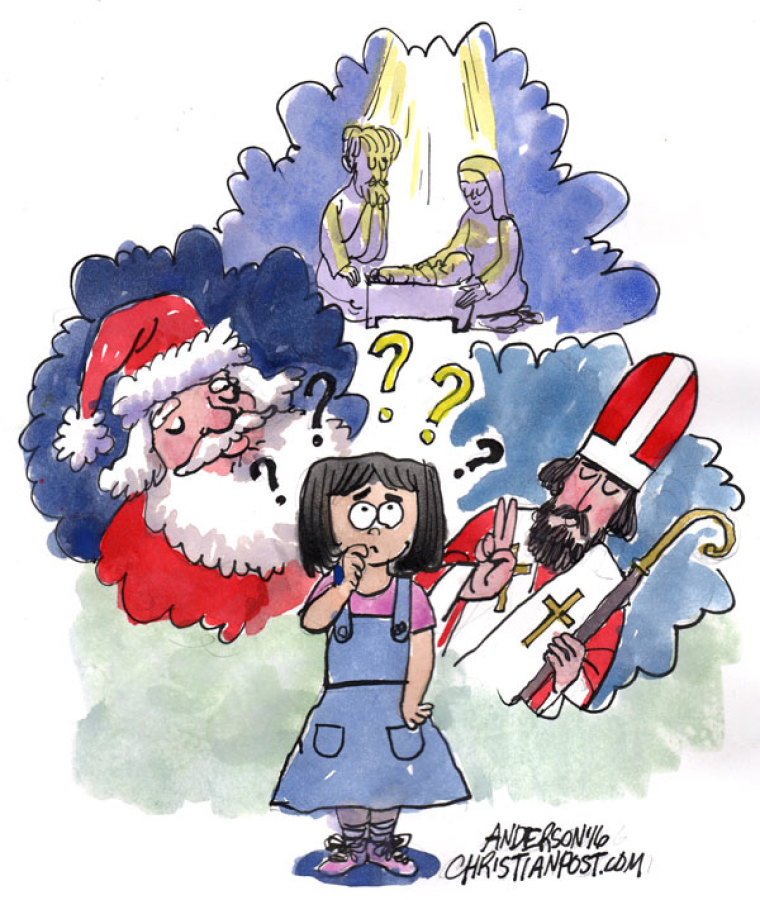 Can Santa Claus Confuse Children About Christianity?