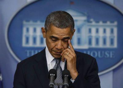 President Obama speaks about the shootings at Sandy Hook Elementary School