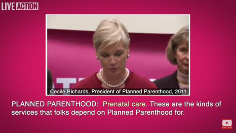 Cecile Richards addressing the press 2011