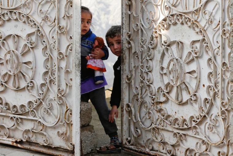 iraqi children, islamic state