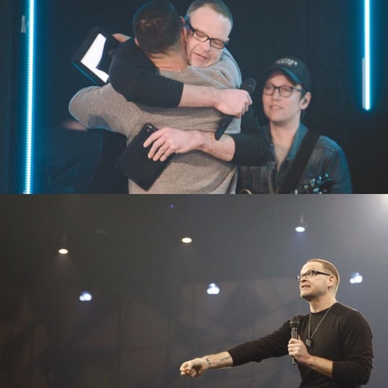 Perry Noble, Steven Furtick