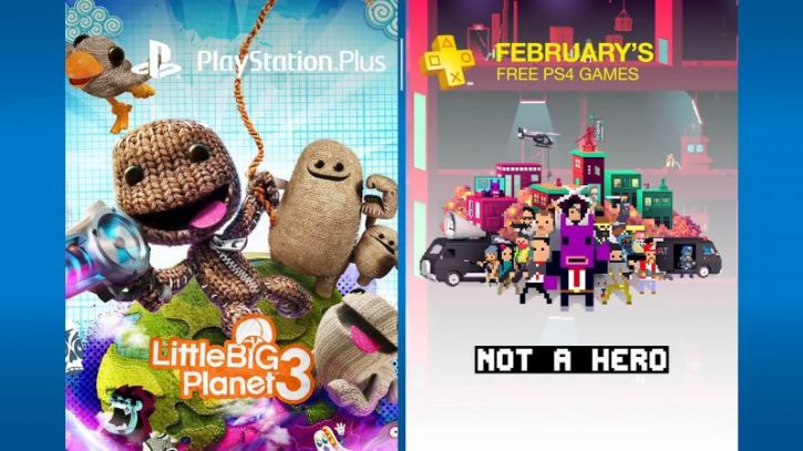 PlayStation Plus February 2017 Free Games For PS4, PS3, PS Vita