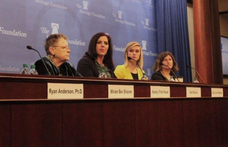 Heritage Foundation panel: 'Biology Isn't Bigotry