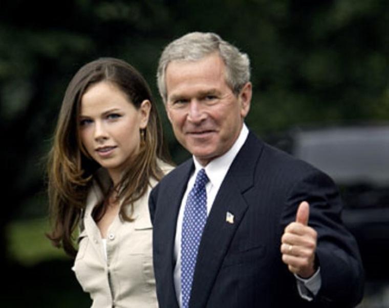Barbara Bush, George Bush