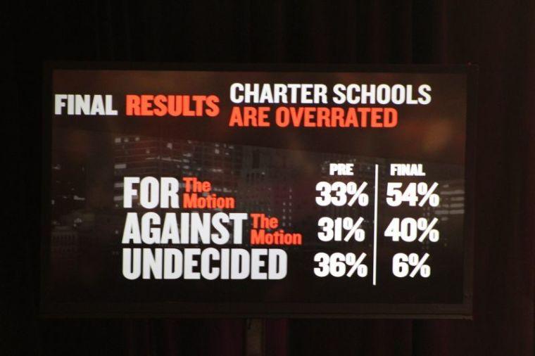 Charter Schools, Intelligence Squared