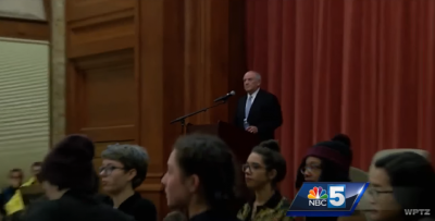 Charles Murray Protest