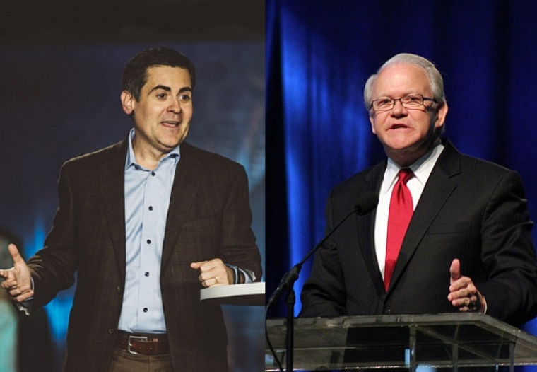 Frank S Page, Russell Moore, SBC