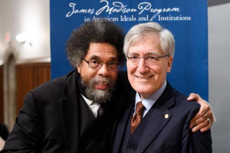 "Robert P. George and Cornel West Hold Discussion at Museum of the Bible on ""Honesty and Courage in a Time of Polarization"""