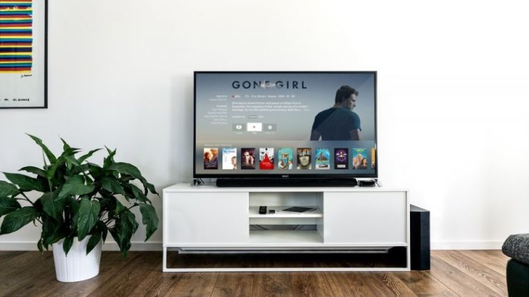 TV using a streaming service.