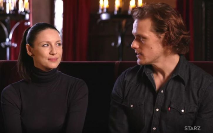 Sam Heughan, Caitriona Balfe Spotted Shopping Together in