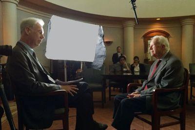 Martin Doblmeier and Jimmy Carter