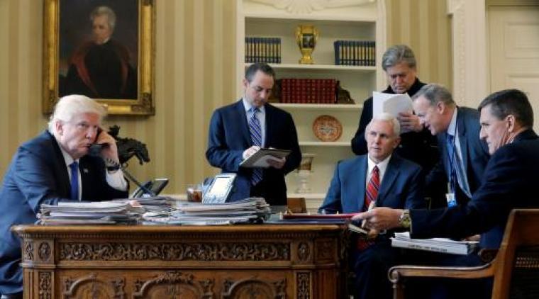 Donald Trump Calls Vladimir Putin