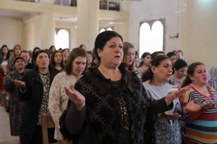 Easter Mass, Iraq