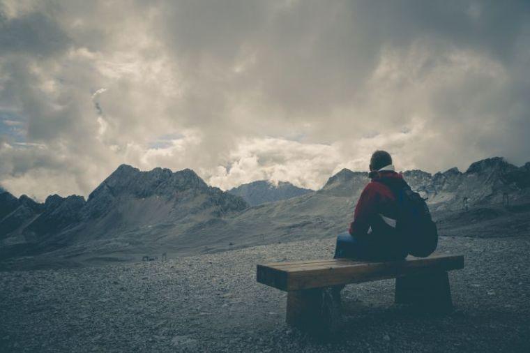 Alone mountain