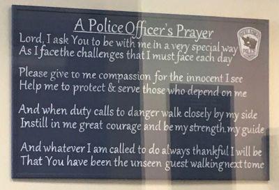 Prayer display