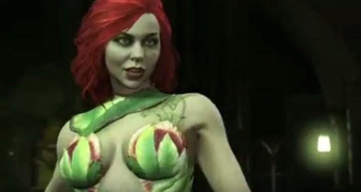Injustice 2 Poison Ivy Trailer Female Villain Gets Spotlight The