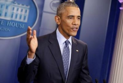 U.S. President Barack Obama speaks during his last press conference at the White House in Washington, U.S. on Jan. 18.