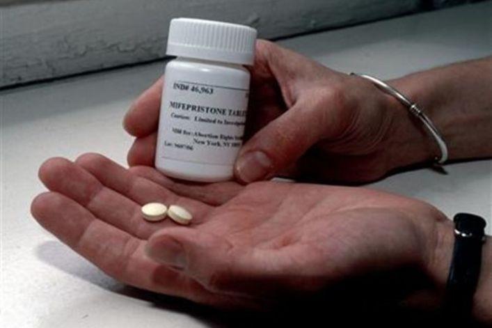 Mifepristone or RU-486 abortion drug