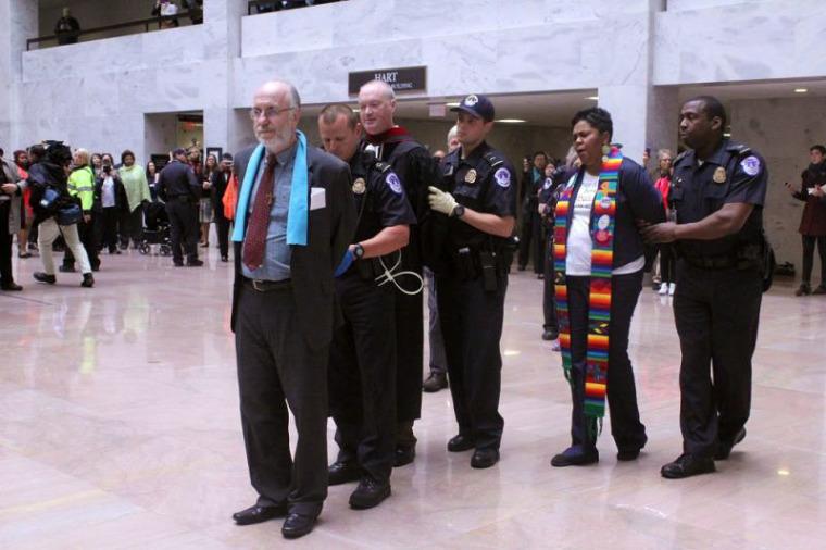 Protest Hart Senate Office Building