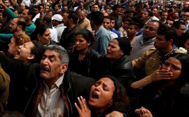 Mourning Egyptian Christians