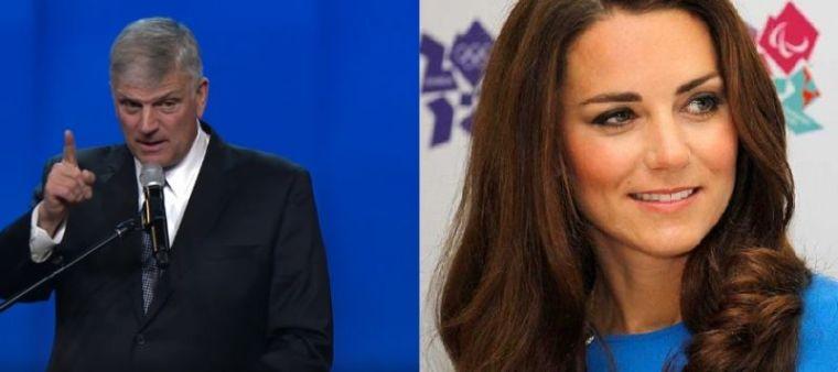 Franklin Graham and Kate Middleton