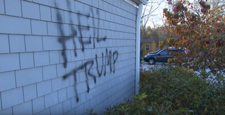 Trump Vandalism