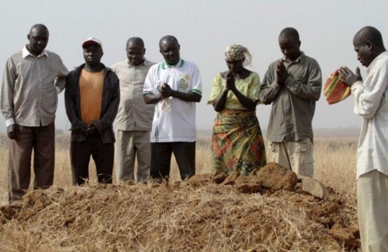 Mourning victims of Fulani herdsmen