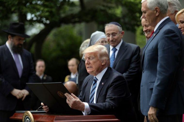 Trump executive order on religious freedoms