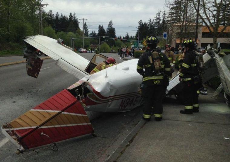 Plane that crashed in Washington state