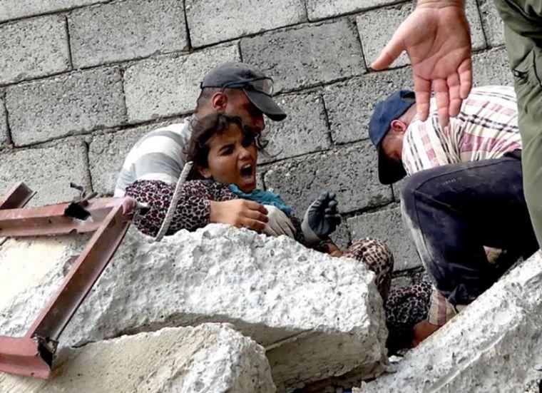 Iraqi girl Rahab rescued